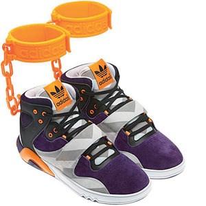 Die neueste Kreation des amerikanischen Designers Jeremy Scott für Adidas.