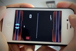 Pong auf dem iPhone