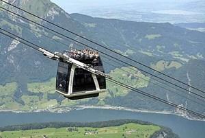 Panoramablick für die Passagiere.