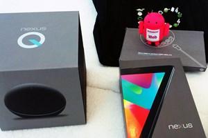 Gleich zwei neue Nexus-Geräte gab es zur Google I/O 2012 - auch sonst scheint Google die eigene Hardwareentwicklung forcieren zu wollen.