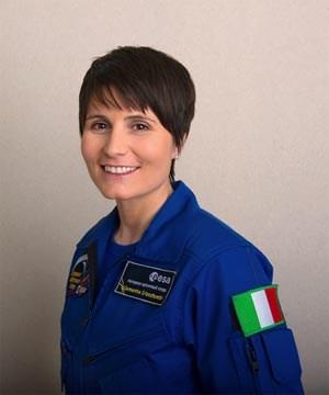 Samantha Cristoforetti wird ab 2014 Dienst auf der ISS versehen.