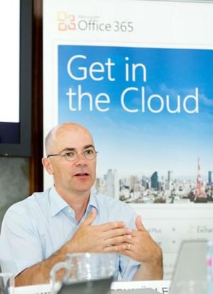 Harald Leitenmüller, CTO bei Microsoft Österreich