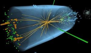 Nach rund einer Billiarde Kollisionen haben Cern-Physiker ein neues Teilchen entdeckt. Es dürfte das erstmals 1964 vorhergesagte Higgs-Boson sein.