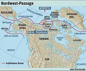 Die Befahrung der Nordwest-Passage könnte allerdings einen sinnvollen Beitrag gegen Klimaerwärmung leisten.