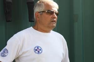 Michael Mimra ist seit fast 40 Jahren bei der Wiener Wasserrettung.