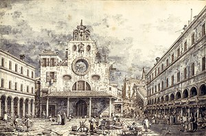 Unerkannt schlummerte diese Tuschzeichnung Canalettos in einer Pariser Privatsammlung: Nun brachte sie rund 2,4 Mio. Euro ein.