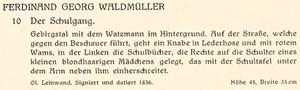 Auszug aus dem Auktionskatalog von Wawra, 1928.
