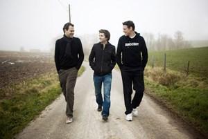 Olly Ceulenaere, Jason Blanckaert und Kobe Desramaults.