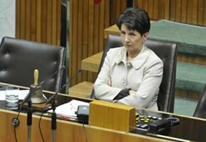 Barbara Prammer legt Uwe Scheuch den Rücktritt nahe.