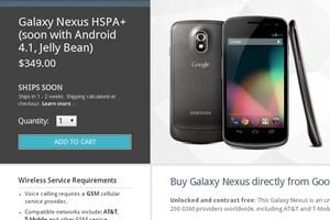 Mittlerweile wird das Galaxy Nexus wieder in der US-Variante des Google Play Stores gelistet - allerdings mit einer Wartezeit von 1-2 Wochen.