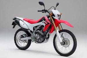 Honda CRF 250 LMotor: 1 Zylinder-4-Takt-Motor, 4 VentileHubraum: 249,4 ccmLeistung: 17 kW (23 PS) bei 8.500 U/minDrehmoment: 22 Nm bei 7.000 U/minKraftübertragung: 6-Gang-Getriebe und KetteRadaufhängung vorne: 43 mm USD-GabelRadaufhängung hinten: Schwinge mit Mono-StoßdämpferBremse vorne: Scheibenbremse, Ø 256 mm, 2-KolbenBremse hinten: Scheibenbremse, Ø 220 mm, 1-KolbenReifen vorne: 3.00-21 51PReifen hinten: 120/80-18M/C 62PGewicht vollgetankt: 144 kgSitzhöhe: 875 mmPreis: ab 4.290 Euro