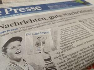 """""""Neuland"""", aber """"keine Wende"""": """"Die Gute Presse"""""""