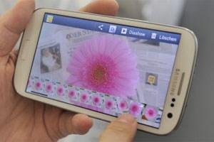 Bad idea: Galaxy S3 (oder irgendein andere Gerät mit Akku oder Batterie) in der Mikrowelle trocknen.
