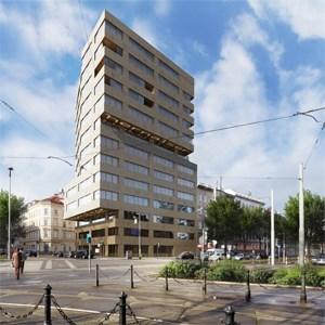 So soll sie aussehen, die künftige Zentrale von Gewog und Neue Heimat.