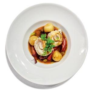 Das Essen gibt sich international italienisch.