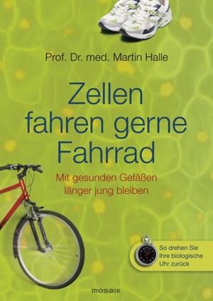 In seinem Buch beschreibt Martin Halle, wie man mittels gesunder Ernährung und Bewegung sein Leben verlängern kann.