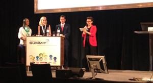 Sabine Liehr, Ina Bauer, Andrea Malgara und Moderatorin Christine Antlanger-Winter (Mindshare).