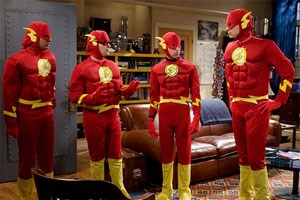 "Geekige Kostümwahl in der CBS-Serie ""The Big Bang Theory"""