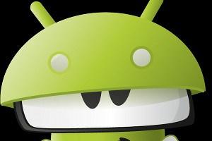 Zappy, das XBMC-Maskottchen freundet sich mit Android an.