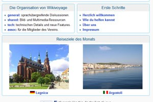 Reiseportal von Wikipedia-Machern geplant.