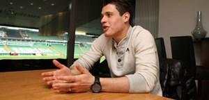 """Zlatko Junuzovic im Weser-Stadion: """"In Deutschland wird ein intensiverer, schnellerer Fußball gespielt als in Österreich."""""""
