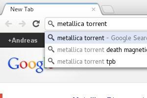 """Geht es nach der Musikindustrie sollen Begriffe wie """"torrent"""" aus der Autovervollständigung der Google-Suche und aus der """"Instant Search"""" verschwinden."""