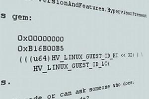 Die entsprechende Code-Passage im Linux-Kernel.