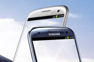 Das Galaxy S III.