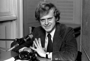 Bereits in den 1960er Jahren im Radio-Studio: Rudi Klausnitzer
