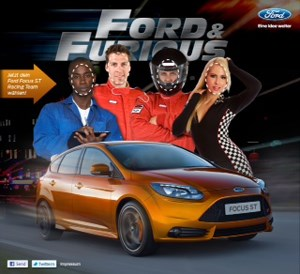 """Ford & Furious""-App von Wunderman PXP"