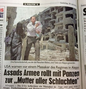 """""""Kronen Zeitung"""" vom Samstag, 28. Juli 2012."""