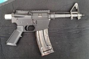 Ein US-Waffenfan baute sich mithilfe eines 3D-Druckers eine funktionierende AR-15 nach.