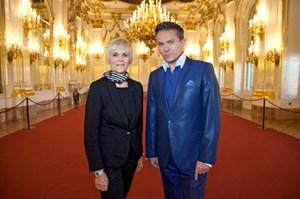 """""""Die Royals"""": Lisbeth Bischoff und Alfons Haider moderieren."""