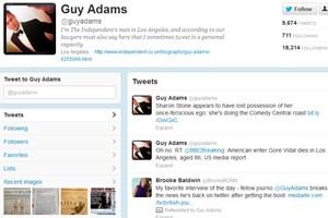 Guy Adams hat sein Konto zurückbekommen. Die Diskussionen rund um Zensur auf Twitter gehen weiter.