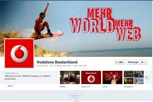 Bemerkt hat Vodafone die vielen tausend Likes und Kommentare erst nach einigen Tagen