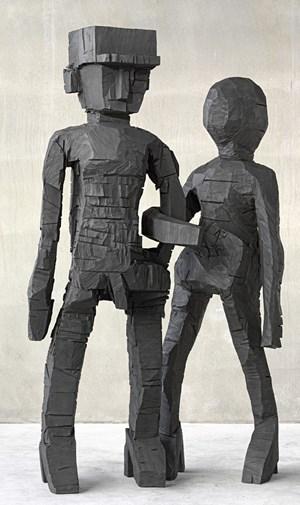 """Georg Baselitz: """"Sing Sang Zero"""", 2012."""