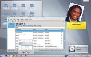 KDE 4.9 ist dem Andenken von KDE-Community-Mitglied Claire Lotion gewidmet, die im vergangenen Mai verstorben ist.
