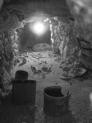 Die Grabkammer unter dem Königspalast