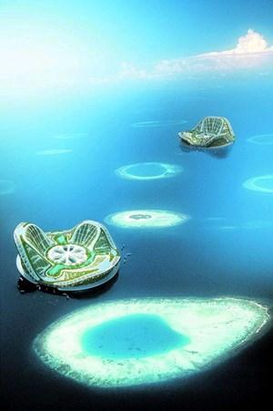 """Hausboot war gestern: Vincent Callebaut plant mit dem """"Lilypad"""" eine ganze Stadt auf dem Meer."""