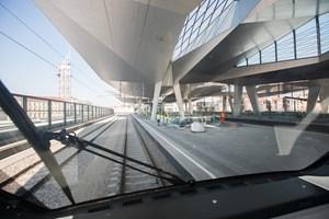 Durchfahrt durch den Hauptbahnhof: Dieses Bild bietet sich ab sofort zum Beispiel im Railjet zwischen München und Budapest.