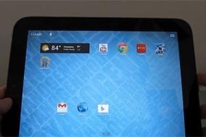 Das einstige webOS-Tablet kommt in den Genuss der jüngsten Android-Version.
