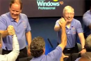 Bei der Pressenkonferenz zur erfolgreichen Marsmission wurde Windows XP eingesetzt. Relevante Systeme werden allerdings nicht mit Windows XP betrieben.