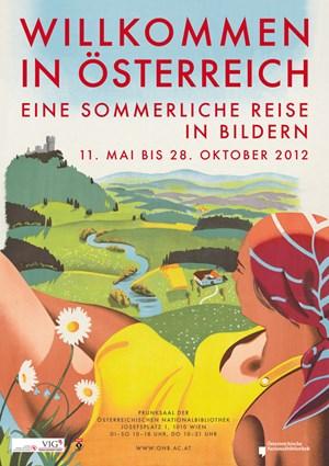 Lockmittel auf Papier: Bernd Steiner zeichnete 1933 ein Plakat in Sachen Badefreuden, Arthur Zelger setzte das Tiroler Gebirgsland 1973 in Szene, und Joseph Binder wird das Plakat zugeschrieben, das auf Französisch für das Land der Berge wirbt.-> Hier geht's zu einer Ansichtssache