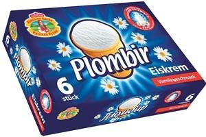 Plombir Vanille-Eiskrem, 6 Stück à € 2,99 bei Merkur