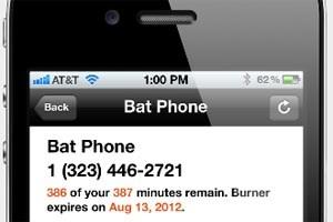 Die iPhone-App Burner soll mit temporären Telefonnummern zum Schutz der Privatsphäre beitragen.