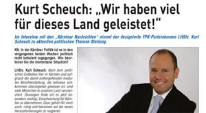 Kurt Scheuch verteidigt die FPK.