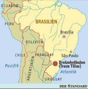 Die Kolonie Dreizehnlinden liegt im Süden Brasiliens.