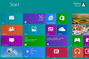 """Die ehemals als """"Metro"""" bezeichnete """"Windows 8""""-Oberfläche"""