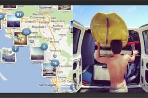Die kostenlose App Instagram hat mit einem Update neue Features wie Foto-Karten bekommen.