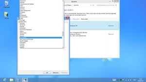 Mühsam: Auf dem Touchscreen Einstellungen im Desktopmodus vornehmen.